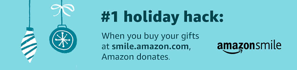 Amazon Smile. When you buy gifts at smile.amazon.com, Amazon donates.