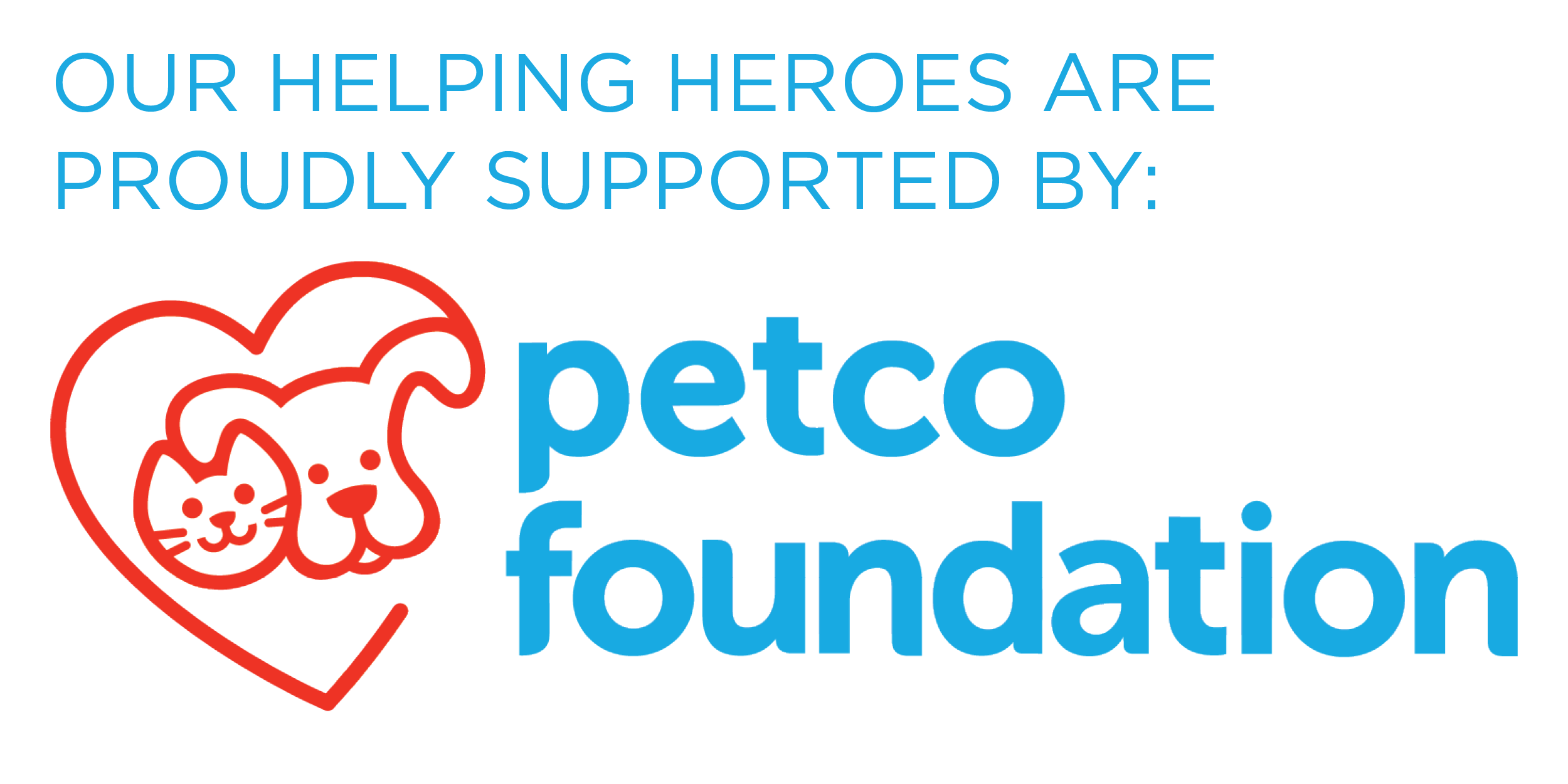 Logo for Petco Foundation.