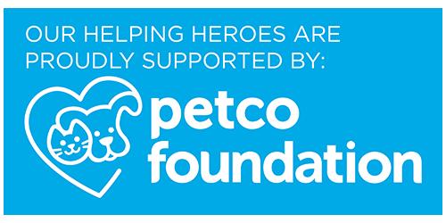 Logo for Petco Foundation.