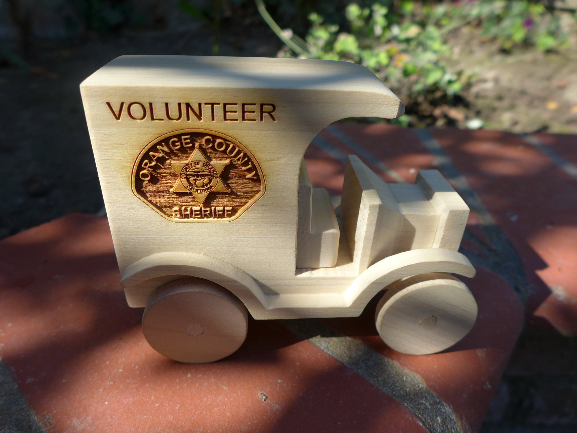 Volunteer Recognition by the Orange County Sheriff