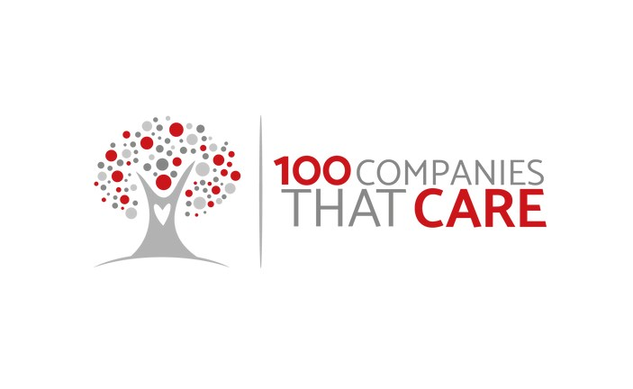 100 companies that care logo